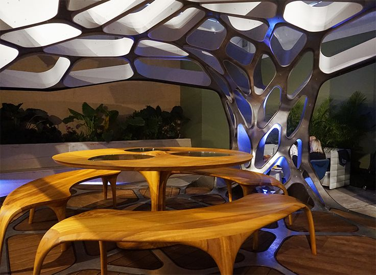 Zaha Hadid Launches Prefabricated Dining Pavilion At Design Miami ArchitectureModern ArchitectureArchitecture Interior