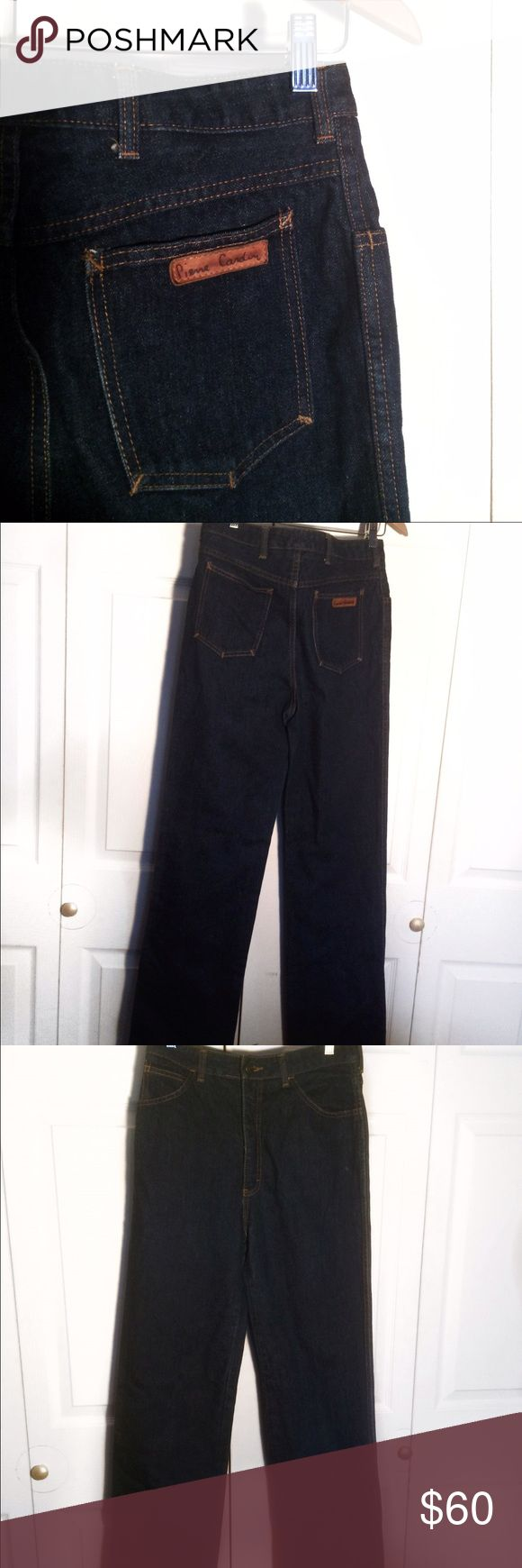 Pierre Cardin jeans - very long 100% cotton, very sturdy denim, very long Pierre Cardin Jeans Boot Cut