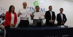 Firman convenio Cobao y la Univas para que bachilleres continúen sus estudios de nivel superior