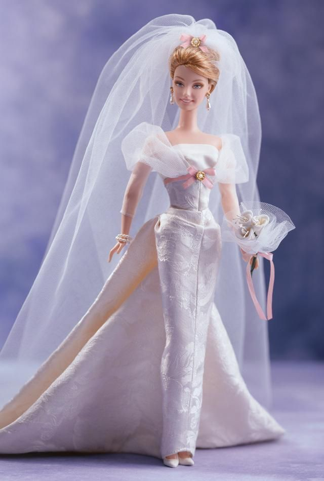 17 best images about barbie wedding gaun on pinterest for Wedding dresses for barbie dolls