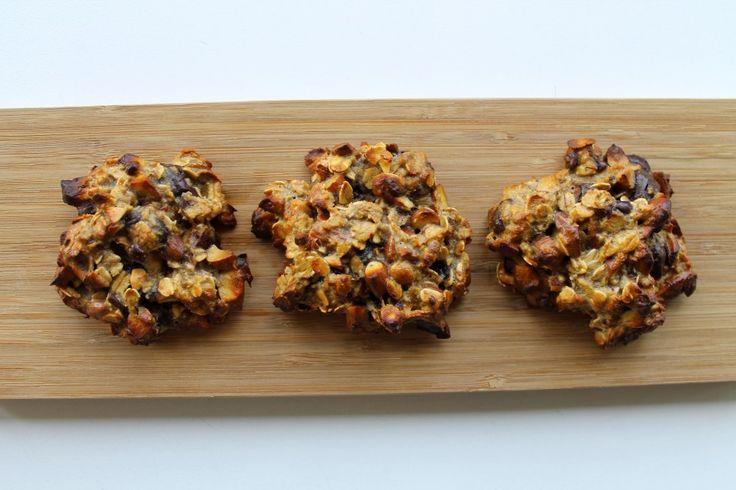 Nøddesnacks med peanutbutter og mørk chokolade | Anna-Mad blog