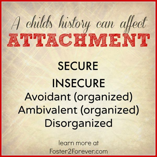 attachment disorder within the foster care Effective practice based therapeutic techniques attachment disorder: multiple placements in foster care at an average stay of 4 to 5 years.