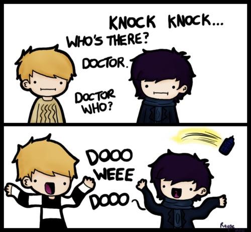 (:Knockknock, Best Friends, The Doctors, Doctors Who, Dooo Weee, Knock Knock Jokes, Dr. Who, Doo Wee, Weee Dooo