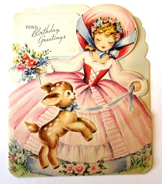 144 best images about Vintage Birthday – Vintage Birthday Cards