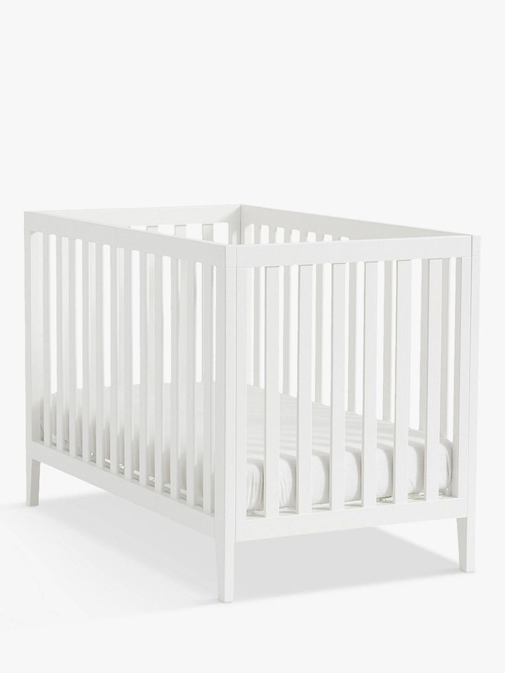 Pottery Barn Kids Marlow Convertible Cotbed White