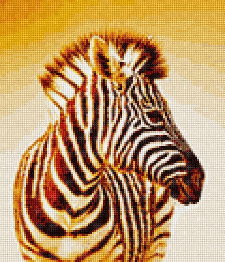 Zebra Cross Stitch APP