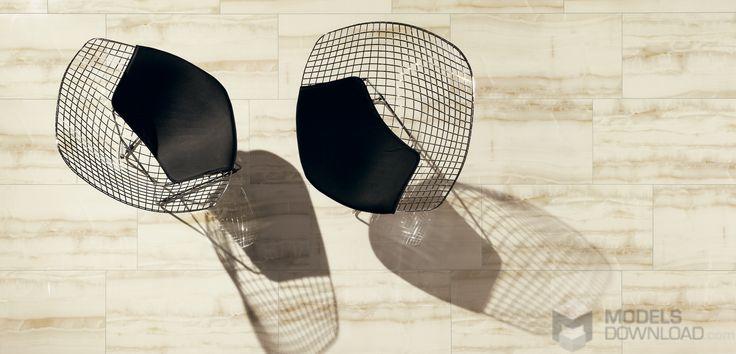 Modern, black chairs