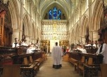Evensong 5pm across London : e.g. Southwark Cathedral