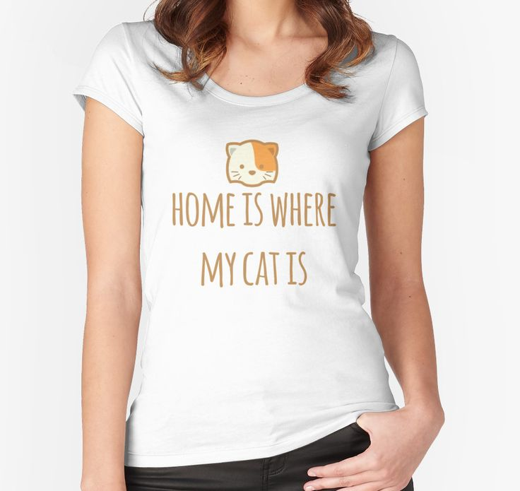 Home Is Where My Cat Is by typogracat