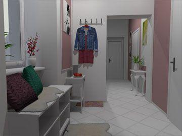 A new design for entrance hall by Monika Jakubcová www.arcline.sk #interior, #interiordesign, #homedesign