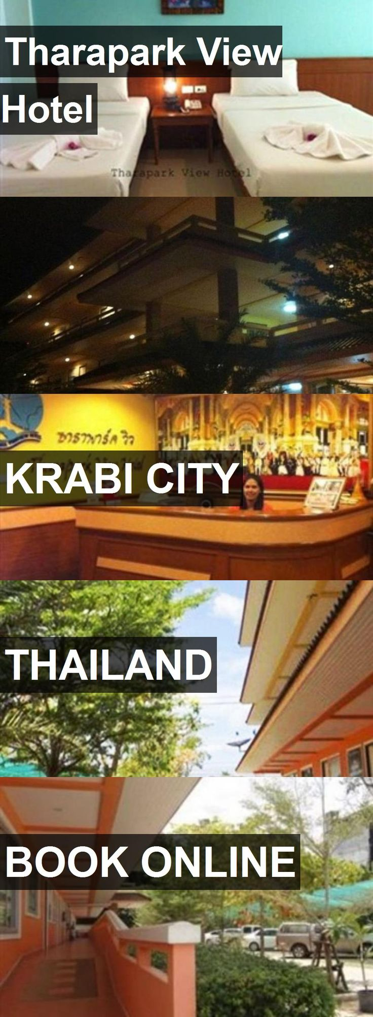 Tharapark View Hotel in Krabi City, Thailand. For more information, photos, reviews and best prices please follow the link. #Thailand #KrabiCity #travel #vacation #hotel