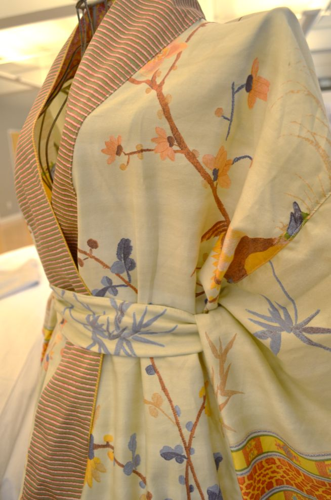 One more day until Spring! Get out of bed in style with our Kimono robe from our Granfoulard Collection!