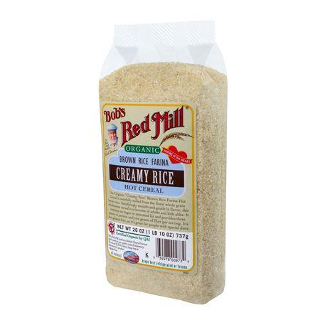 Organic Brown Rice Farina :: Bob's Red Mill Natural Foods