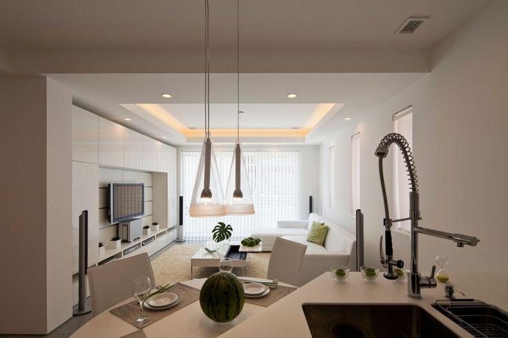 Zen Kitchen and Living Room