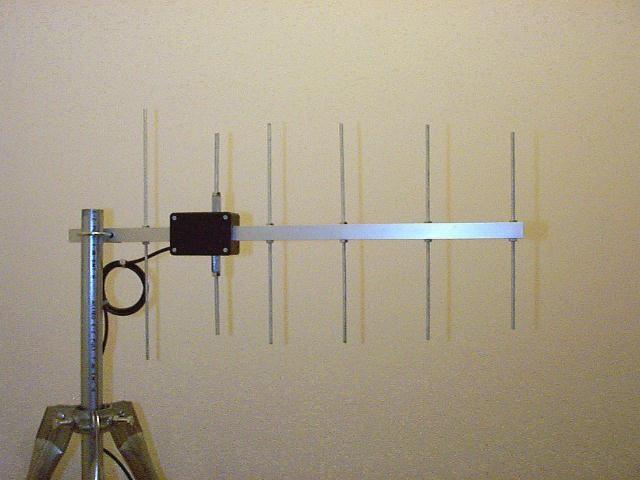 70 cm yagi antenna