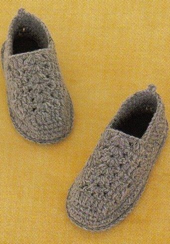 slippers with diagrams