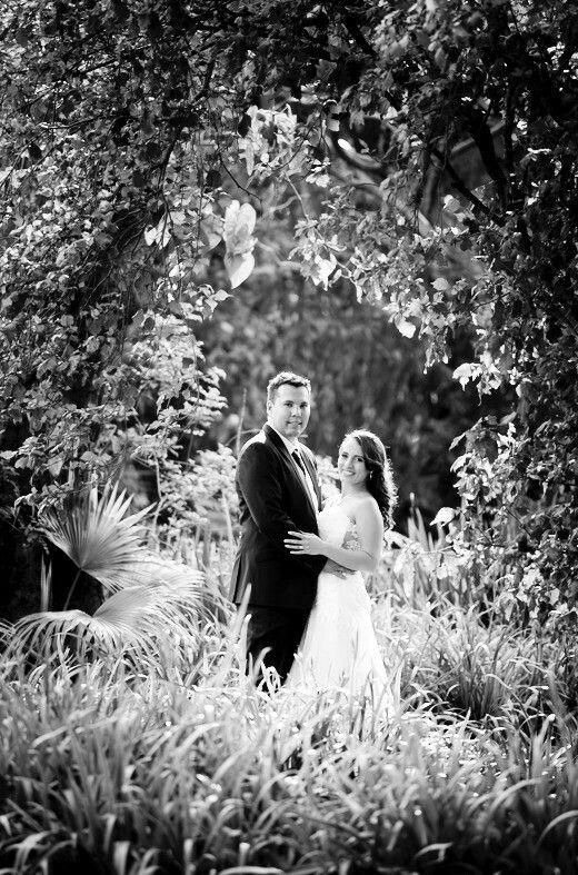 Wedding photography. Natural frame.