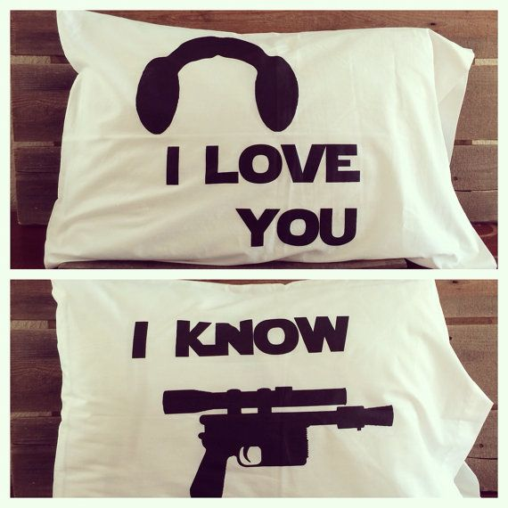 Funny star wars pillows