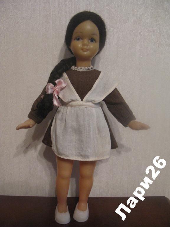 Кукла СССР Школьница Украина