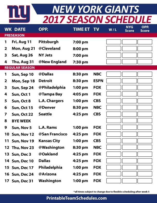 Packers 2018 2019 Schedule >> 39 best images about NFL Football Schedule 2017 on Pinterest