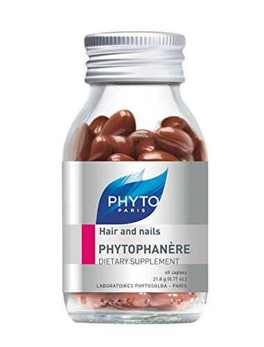 awesome PHYTO PHYTOPHANÈRE Hair and Nails Dietary Supplement, 1 Month Supply, 60 Count