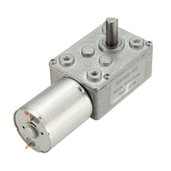 Motores reductores de Caja de engranajes helicoidales 5 rpm par de la turbina de alta corriente continua 12v