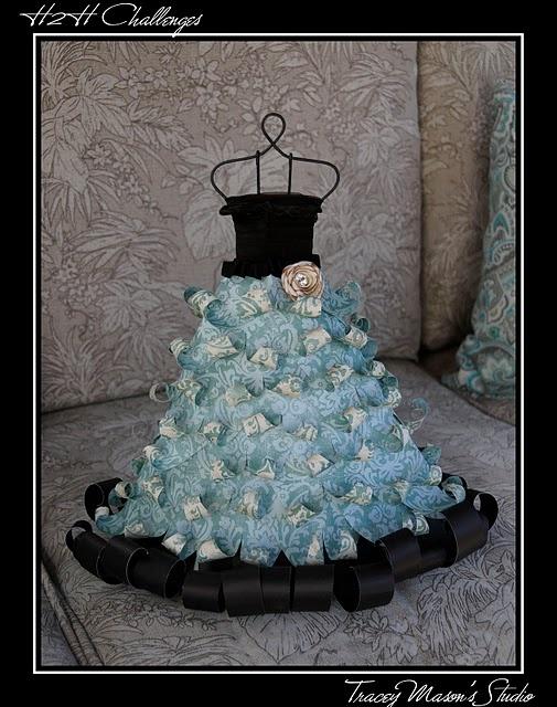 Wire Dress Form Cake - WIRE Center •