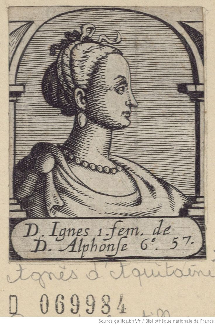 Agnes of Aquitaine Queen of Aragon Daughter