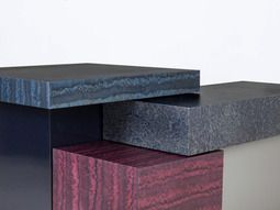 CMF We Like / Table / Blocks / Marble Look Alike / Black / Red / At Osis  Edition 1 Tables By Llot Llov