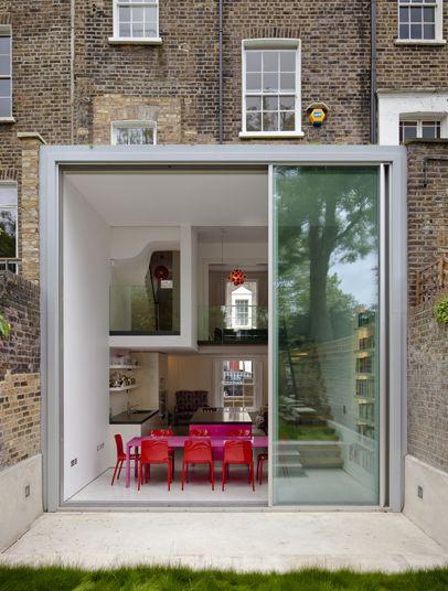 David Mikhail's split-level conversion transforming a five storey house in Camden (photo: Tim Crocker)