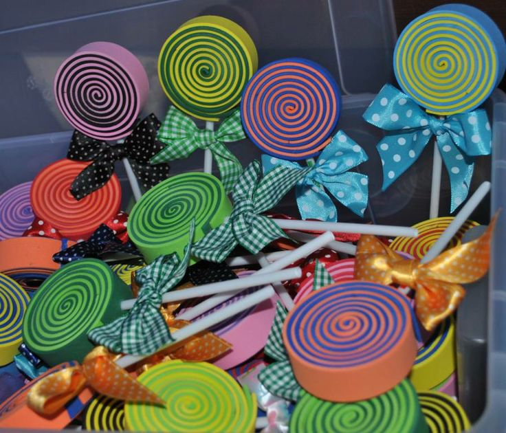 lollipop in gomma crepla