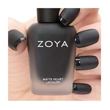 Matte Black. I have been looking for a good matte black nail polish!