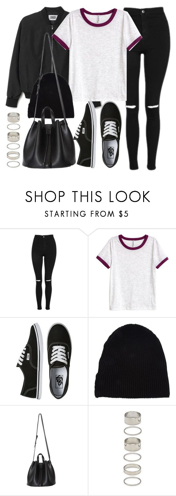 """""""Style #11639"""" by vany-alvarado ❤ liked on Polyvore featuring Topshop, H&M, Vans, Yves Saint Laurent and Forever 21"""