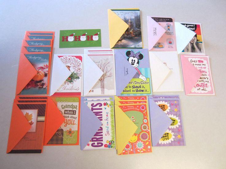 Mixed Lot Hallmark Cards 26 Thanksgiving Christmas Grandparents Day CLEARANCE  #Hallmark #Variety