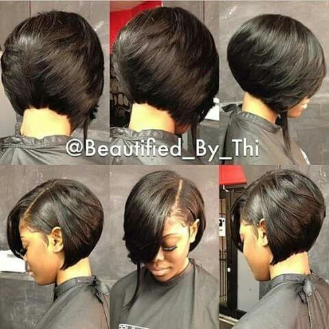 Miraculous 1000 Ideas About Black Bob Hairstyles On Pinterest Black Bob Hairstyle Inspiration Daily Dogsangcom