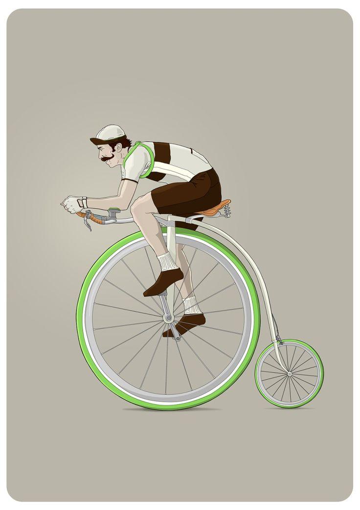 CapoVelo.com   Bicycle Illustrations by Ibai Eizaguirre Sardon