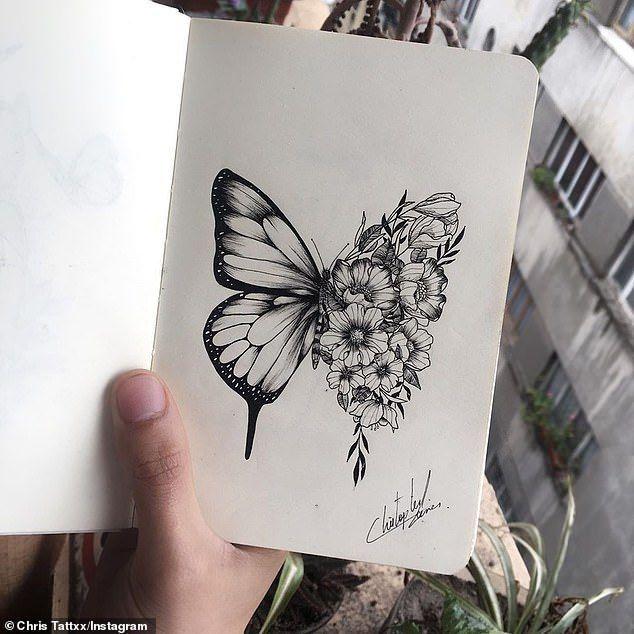 Shawn Mendes Bekommt Ein Schmetterling Tattoo Nachdem Er Die Idee