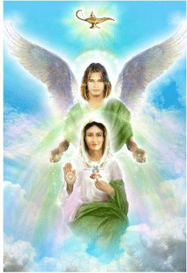 Arcanjo Rafael e Maria
