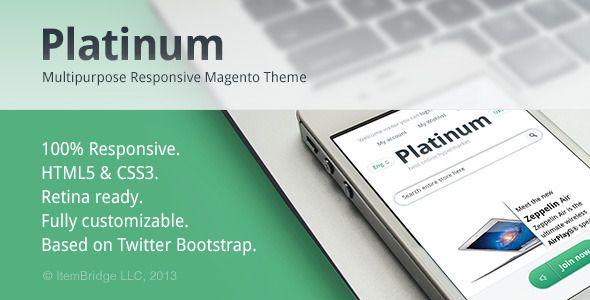 Platinum — Multipurpose Responsive Magento Theme - Magento eCommerce