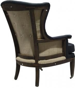 Cedric Wingback Arm Chair. A Block and Chisel Product.