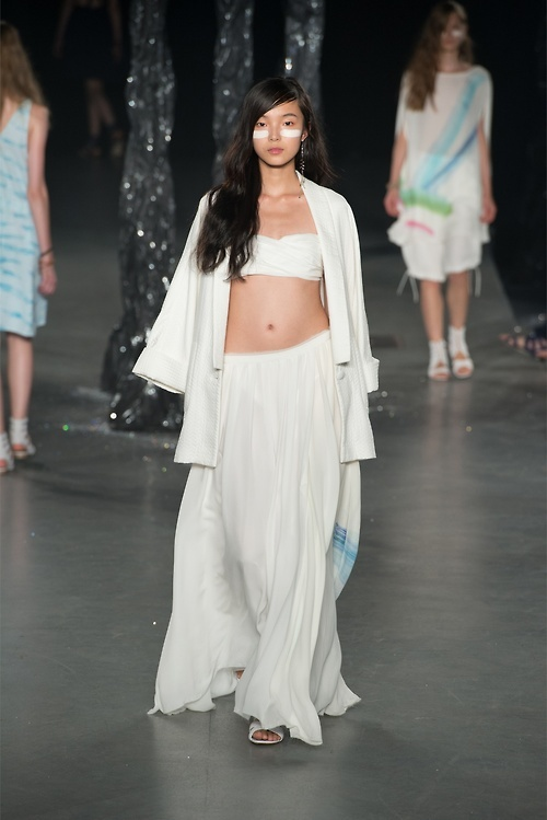 Xiao Wen Ju for Boy By Band Of Outsiders Spring/Summer 2013 OK.