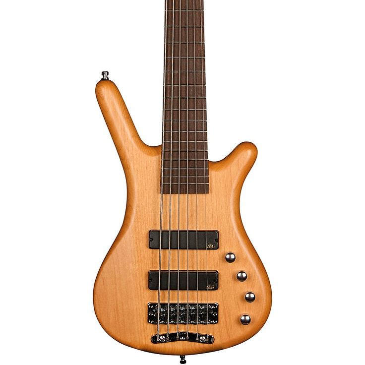 Warwick Corvette Basic Active 6-String Electric Bass Guitar Natural Satin