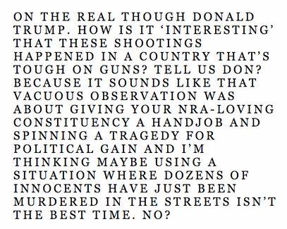 Frank Ocean Comments On Donald Trump Paris