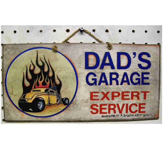 Custom Car Garage Signs : Best ideas about old hot rods on pinterest custom