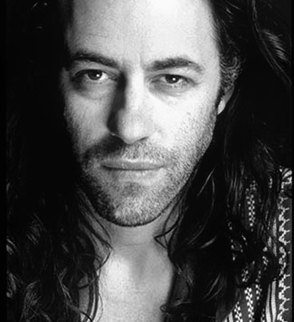 Bob Geldof....A talented man and great humanitarian.