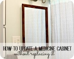 How To Update A Medicine Cabinet
