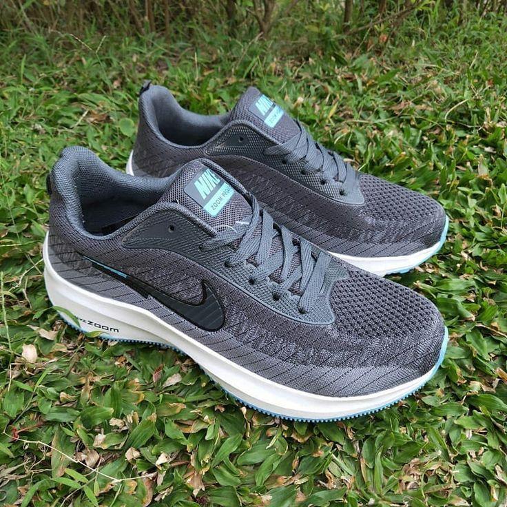 Readystock Nike Zoom Pegasus Grey Blue White Premium Quality