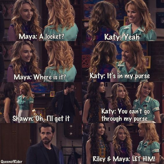 When you lowkey pissed that Girl Meets World just tossed Angela aside like nothing, but also impressed and laugh at little Boy Meets World references like this one...