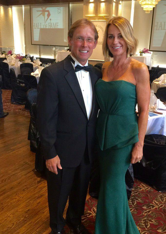 Nadia y su esposo, el también gimnasta estadounidense Bart Cooner / bartandnadia.com