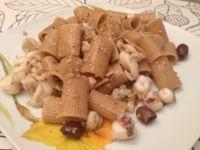 #Mezze maniche integrali con #sugo di #seppie in bianco #food #cucinasfiziosa #ricetta http://www.mynotestyle.com/2013/08/mezze-maniche-integrali-con-sugo-di.html